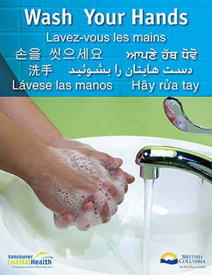 Wash Your Hands (Multilingual)